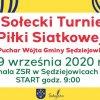 I Sołecki Turniej Piłki Siatkowej o Puchar Wójta Gminy Sędziejowice
