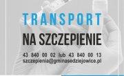 Bezpłatny transport na szczepienia w Gminie Sędziejowice